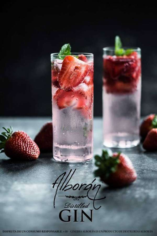 Alboran Strawberry En Vaso Largo
